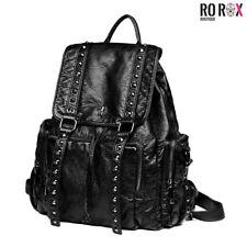 Ro Rox Iris Punk Goth Unisex School Uni Large Backpack Mens Womens Bag Rucksack