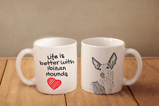 """Podenco Ibicenco - ein Becher """"Life is better with"""" Subli Dog, CH"""