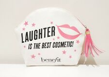 Benefit Canvas Shell Shape Cosmetic Bag with Tassel -  Authentic