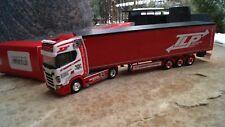 """Herpa Scania CS 20 HD Gardinenplanen-Sattelzug """"TLP"""" (A)  307680"""