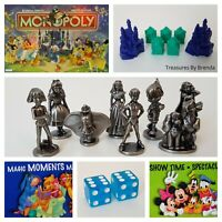 Spare REPLACEMENT PARTS Pieces for Monopoly The Disney Edition Game Bilingual