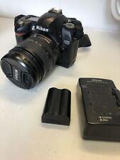 Nikon D70 Vintage DSLR & Nikkor DX AF-S 18-70mm Zoom Lens - Needs Cosmetic TLC