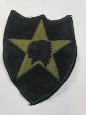 ARMY PATCH: SECOND INFANTRY DIVISION - EMBROIDERED ON OCP