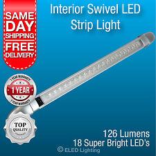 Caravan LED Ceiling Light Surface Mount Strip Lamp 18 Super Bright Leds 12 v