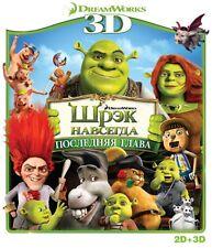 Shrek Forever After 3D (Blu-ray only, 2012, 3D) RegionFREE