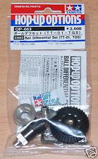 Tamiya 53663 Bola Diferencial Set (TT-01, TGS) (TT01/TT01E/TT02/TT02B), nuevo en paquete
