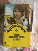 Agatha Christie Perchè non l'hanno chiesto a Evans ? - Oscar Mondadori 1992