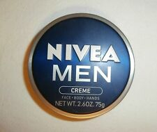 NIVEA MEN CREME Hydration+Protects Light Weight Non-Greasy FOR MEN 2.6oz CAN NEW