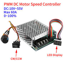DC 10-50V 40A Digitale PWM Motor Controller CW CCW Reversible Pulse Driver MI