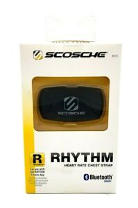 Scosche RHYTHM Heart Rate Monitor BLECS Work Out/Exercise Tracker Black NIB
