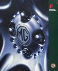 MG MGF Accessories UK market sales brochure ref.AKM600