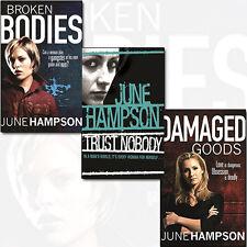 June Hampson Daisy Lane Series Collection 3 Books Set Trust Nobody,Broken Bodies