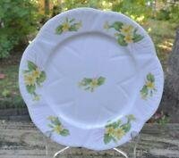 "Shelley England Fine Bone China ""Primrose"" Salad/ Luncheon Plate 8 inches"