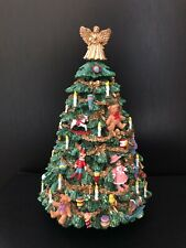 New. The 12 Days of Christmas Rotating Musical Christmas Tree. Exquisite Detail!