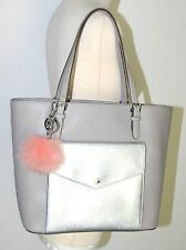 Michael Kors Neu Jet Set Item Tote 325€ Tasche Handtasche LG Saffiano grey