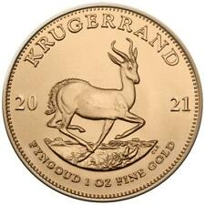 Südafrika - 1 Rand 2021 - Krügerrand - Anlagemünze - 1 Oz Gold ST