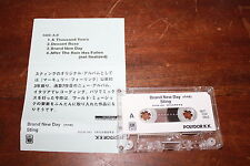 The Police - Sting JAPAN only 4 track promo cassette with rare versions