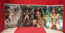 Lot Of 4 CiCi #1-4 Of 4 Spilled Milk Comics 2 3 Wrap Around Variant Covers 2002