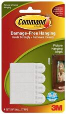 3M Command small picture hanging strips Damage Free
