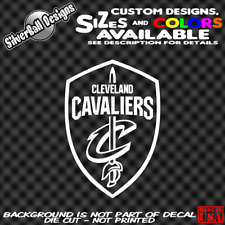 Cavs Shield Custom Vinyl Decal car window sticker CLE Cleveland Cavaliers NBA