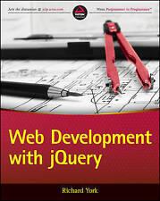 Web Development with jQuery, York, Richard, Good, Paperback