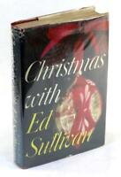 Signed 1959 Christmas with Ed Sullivan Variety Show Essays Hardcover w/DJ