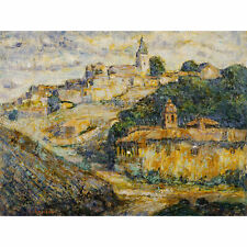 Ernest Lawson Twilight In Spain Extra Large Art Poster