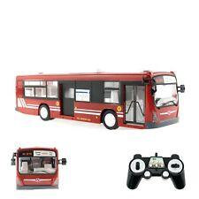 RC Bus Ferngesteuert, Maßstab 1:32 - 2,4GHz - mit Licht, Sound und Hupe - Rot