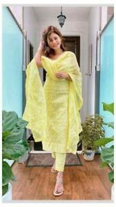 Kameez Salwar Indian Pakistani Suit Designer Wedding Party Wear Dress Ethnic