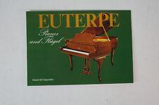 Euterpe Prospekt Klavier Flügel Prospekte 1960 70er Jahre vintage Katalog B5273