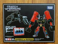 Transformers MP-15 Masterpiece Rumble & Jaguar Ravage G1 Tapes NEW🇺🇸USA