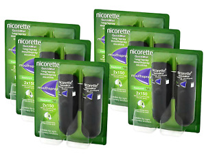 Nicorette QuickMist 1mg Mouthspray Freshmint Duo - 1/2/3/4/5/6 Pack