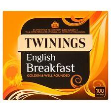 Twinings English Breakfast 100 teabags - Sold Worldwide from England