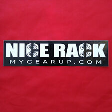 NICE RACK Gear Up Sticker / Decal 🚲 mygearup outdoor sports storage products