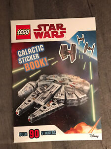 Lego Star Wars: Galactic Sticker Book 90 stickers NEW