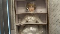 Danbury Mint - Wedding Day Final Touches Porcelain Collector Dolls