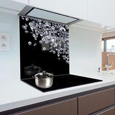 Glass Splashback  Kitchen Printed Panels Heat Resistant Toughened Glass 60x60cm
