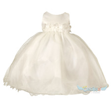 Baby girl christening dress 6-24 Months 099