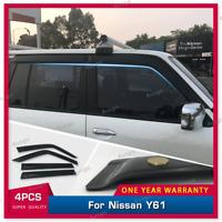 Shevron Window Socks Sox for Nissan Patrol GU Y62 SUV 1//2013 on