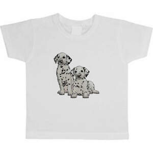 'Dalmation Puppies' Children's / Kid's Cotton T-Shirts (TS029884)