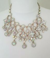 Butler and Wilson Style chunky statement necklace/choker