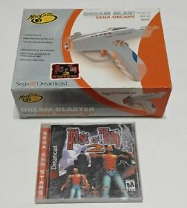 Sega Dreamcast Game Bundle - The House Of The Dead 2 And Gun Controller