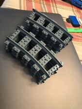 8 Curved Lego Train Tracks 60051/4511/4558/7897/7898/60052/4559/60098