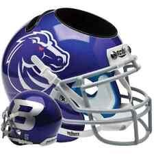 BOISE STATE BRONCOS NCAA Schutt Mini Football Helmet DESK CADDY