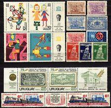 Uruguay - Lotto di 19 francobolli - Nuovi (** MNH)