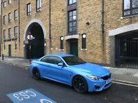 M4 Convertible 2015 Marina Blue 65k WILL BE GOING FOR CHEAP