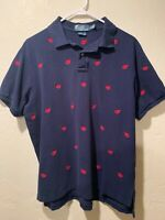 Ralph Lauren Polo Shirt – Embroidered Lobsters – Men's XL – EUC