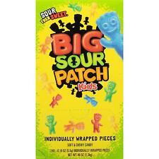 SOUR PATCH KIDS Big Individually Wrapped Soft & Chewy (240 ct.)