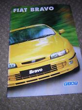 ORIGINAL FIAT BRAVO SALES BROCHURE 1998