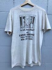 New listing Vtg 70S 80S Bail Bond t shirt single stitch Mens soft Thin Worn Esper Bonding